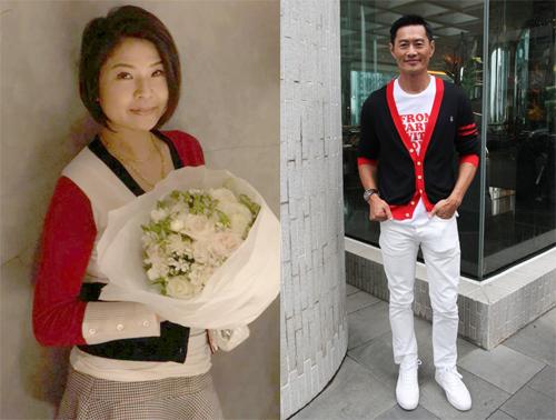 Vợ chồng Huỳnh Đức Bân ăn vận đơn giản ngày cưới.