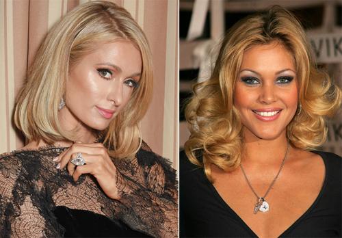 Paris Hilton (trái) và