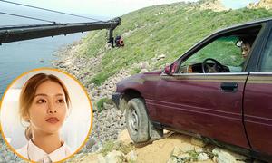 'Hậu duệ mặt trời' bản Việt hé lộ cảnh treo xe bên bờ vực
