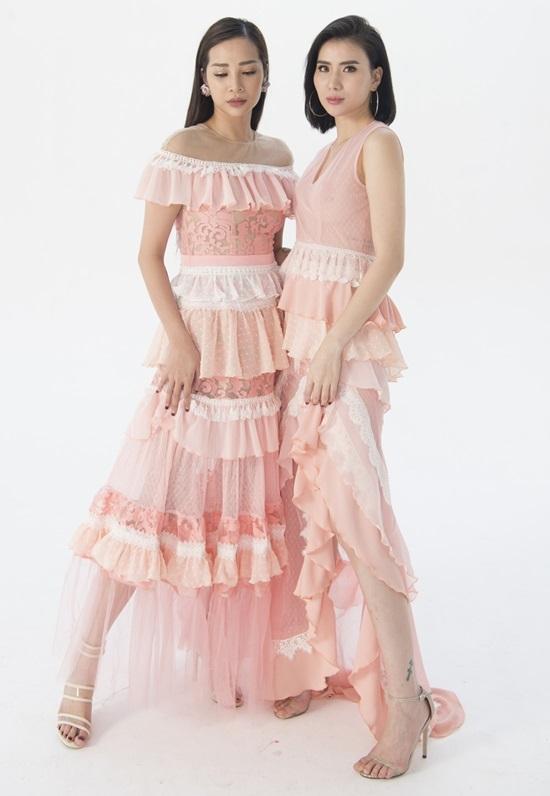 Cao Minh Tiến ra mắt váy áo pastel ở Tuần thời trang Việt Nam