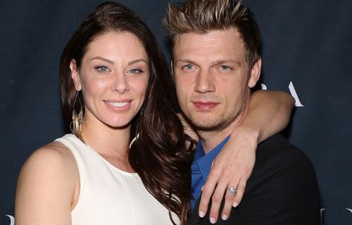 Nick Carter và vợ, Lauren Kitt.