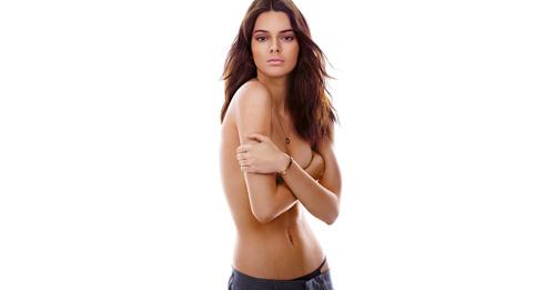 Kendall Jenner từng nhiều lần chụp khỏa thân trước đó. Ảnh: GQ.