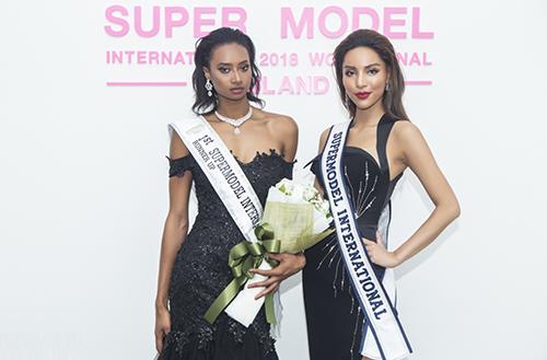 Khả Trang đoạt quán quân Siêu mẫu Quốc tế 2018 - ảnh 1