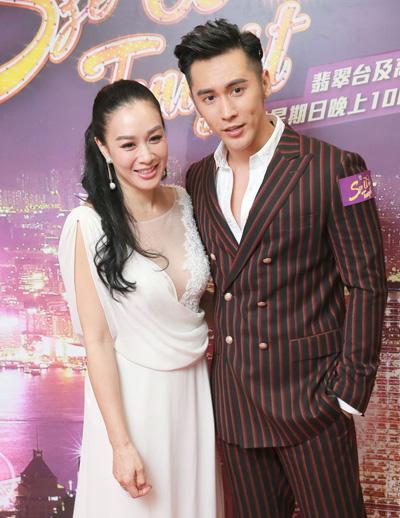 Vợ chồng Chung Lệ Đề - Trương Luân Thạc.