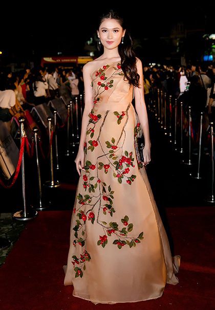 Á hậu Thùy Dung.