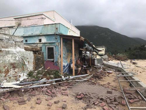 BãoMangkhut đánh sập địa điểm quay Vua hài của Châu Tinh Trì - 2