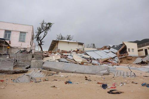 BãoMangkhut đánh sập địa điểm quay Vua hài của Châu Tinh Trì - 3