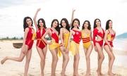 Những khoảnh khắc bikini của top ba Hoa hậu Việt Nam 2018
