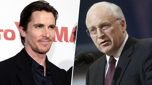 Christian Bale (trái) và Dick Cheney.