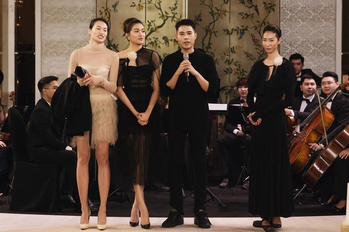 Á hậu Lệ Hằng làm vedette show giao mùa của Lâm Gia Khang