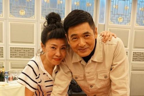 Vợ chồng Châu Nhuận Phát - Trần Hội Liên.