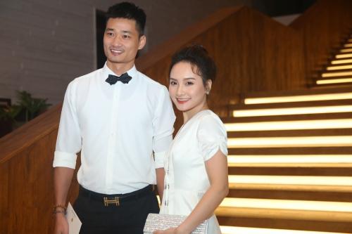 Vợ chồng diễn viên Bảo Thanh bay vào TP HCM để chung vui cùng đồng nghiệp. Bảo Thanh bộ phim truyền hình Ngày ấy mình đã yêu