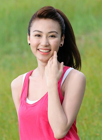 Vóc dáng tuổi 33 của diễn viên Ngân Khánh.