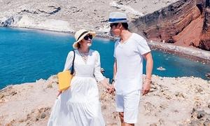 Vợ chồng Lý Hải du ngoạn Hy Lạp, Ai Cập