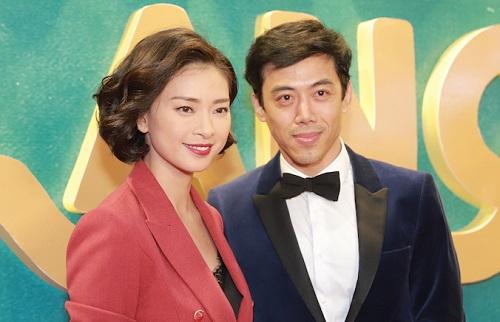 Đạo diễn Leon Lê (phải) và nhà sản xuất Ngô Thanh Vân ở buổi ra mắt phim tại TP HCM.
