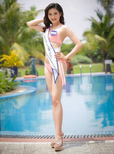 Nguyễn Thị Xoanlà nhân viên văn phòng. Cô gái sinh năm 1992 cao 1,68 mét, số đo ba vòng là 86-60-90 cm. Thí sinh từng vào chung kết Hoa hậu Biển Việt Nam toàn cầu 2018.