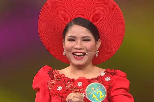Khoảnh khắc chiến thắng của thí sinh Kim Cương.