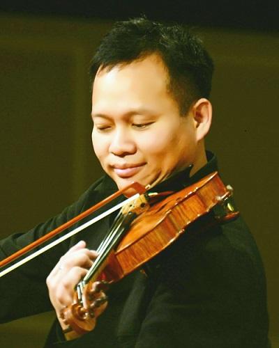 Ông Chương Vũ - Tiến sĩ âm nhạc chuyên ngành biểu diễn Violin