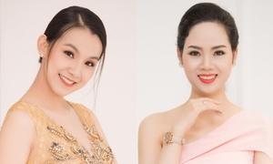 Hoa hậu Thùy Lâm diện váy xẻ ngực, Mai Phương khoe vai trần