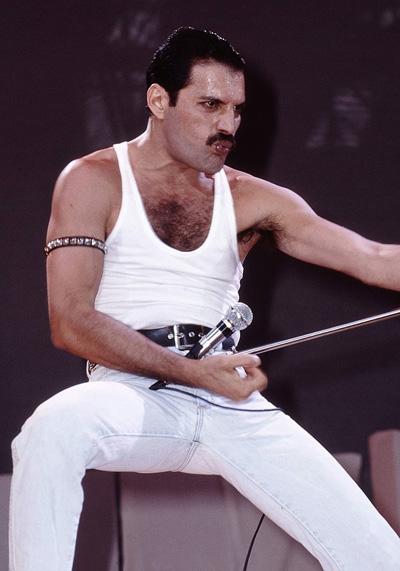 Phong cách biểu diễn của Freddie trên sân khấu.