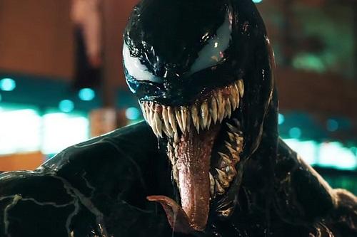 Tạo hình ghê rợn của Venom được dựng bằng kỹ xảo.
