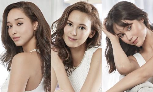 Top 3 Asias Next Top Model 2018: (từ trái qua) Dana, Mia và Adela.