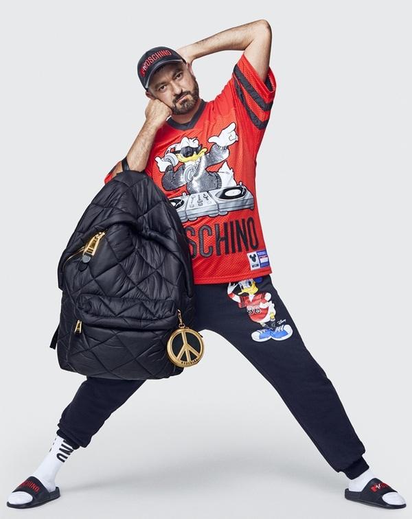 Trang phục vui nhộn của Moschino dành cho H&M
