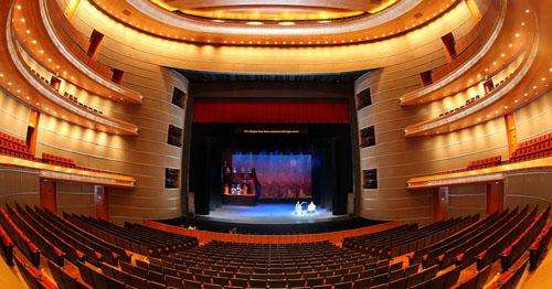 Một gian biểu diễn của Nhà hát lớn quốc gia Trung Quốc.