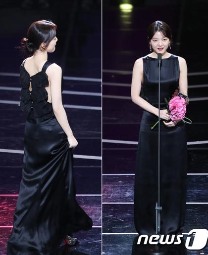Diễn viên trẻGo Ah Sung nhận giảiNữ diễn viên xuất sắc (ngắn tập) với Cuộc sống trên sao hỏa (Life on Mars).