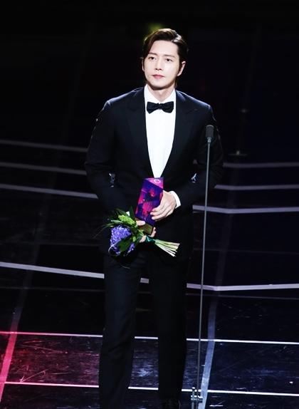 Giải Ngôi sao toàn cầu được trao cho tài tử Park Hae Jin.