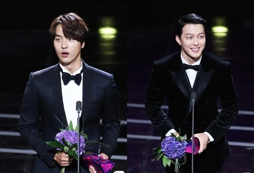 Jang Ki Yong của phim My Mister đoạt Nam diễn viên mới xuất sắc.