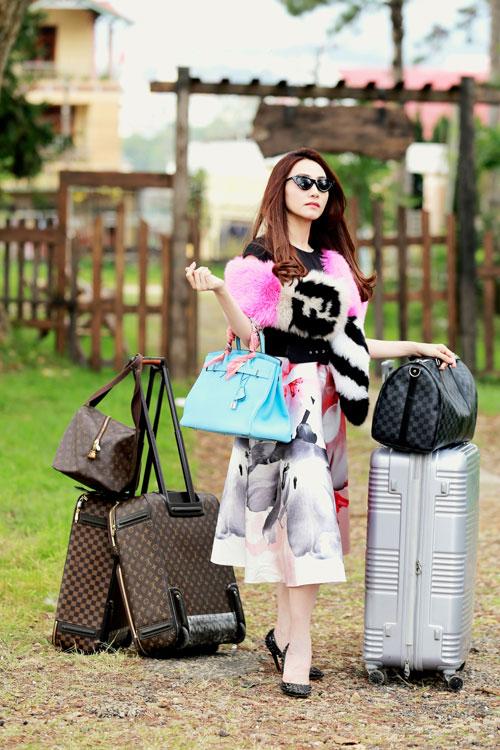 Bộ phim Quý cô thừa kế (đạo diễn Hoàng Duy) xoay quanh câu chuyện về sự ăn chơi sa đọa của Nhung (Ngân Khánh đóng) - một tiểu thư nhà giàu tính tình chảnh chọe, ưa đồ hiệu, không biết làm việc nhà.