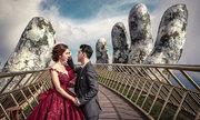 Ưng Hoàng Phúc, Kim Cương chụp ảnh cưới ở Cầu Vàng