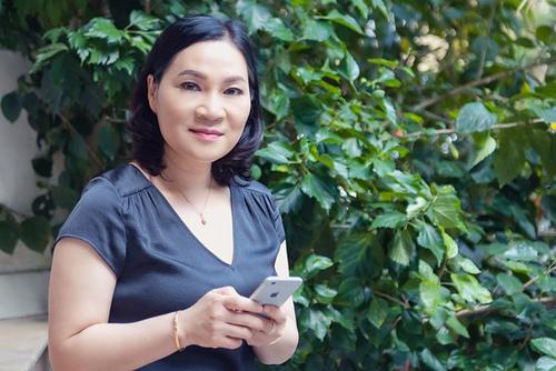 Biên kịch Kim Ngân.