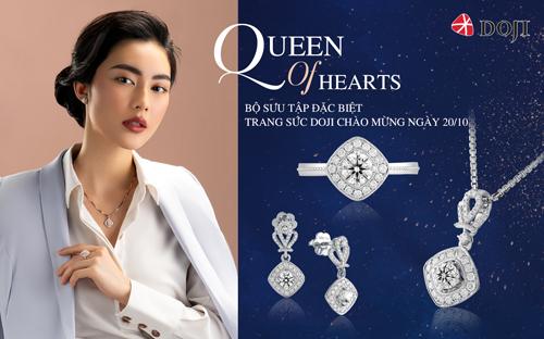 Trang sức kim cương 8 trái tim 8 mũi tên tạo điểm nhấn phong cách, thanh lịch nơi công sở, thể hiện gu thẩm mỹ bắt nhịp xu hướng thời trang thế giới của các chị em.