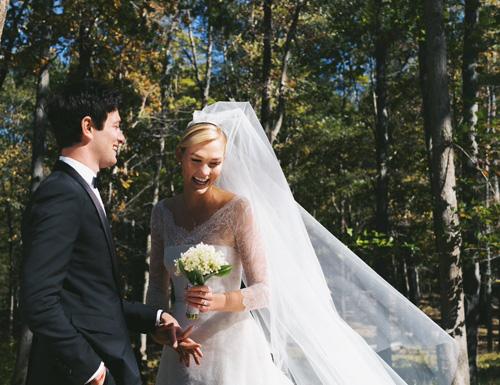 Karlie Kloss và chồng yêu nhau sáu năm.