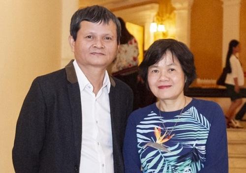 Thanh Vân (trái) và Nhuệ Giang.