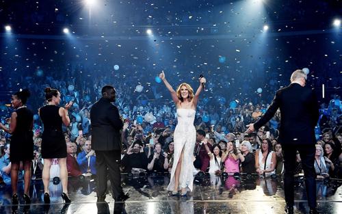 Celine Dion tới Las Vegas khi sự nghiệp chưa xuống dốc.