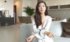 Á hậu Thúy Vân sống độc thân trong penthouse 400 m2