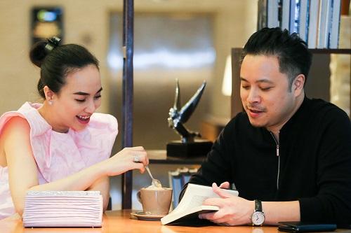 Đinh Ngọc Diệp chia sẻ chồng là người hướng nội, thích đọc sách, xem phim ở nhà.