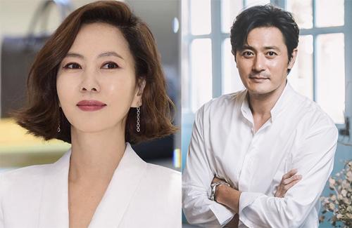 Hai diễn viên Kim Nam Joo và Jang Dong Gun.