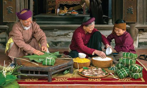 Ảnh lễ hội, văn hóa Việt thắng giải Hành trình Di sản 2018