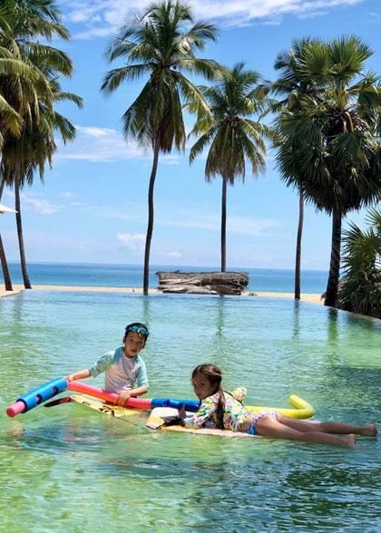 Hồng Nhung đưa hai con du lịch ởSri Lanka - 7