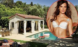 Nhà vườn hơn 6 triệu USD của Alessandra Ambrosio