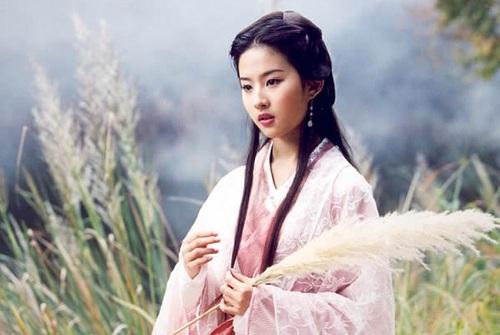 Lưu Diệc Phi trong bản 2003.