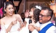 Vợ chồng Hà Kiều Anh mở tiệc sinh nhật màu hồng cho con gái