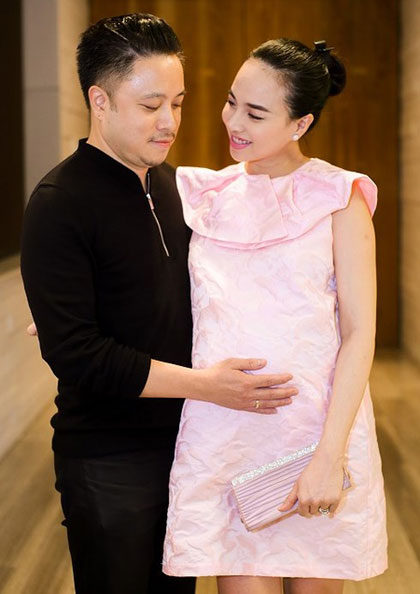 Vợ chồng Victor Vũ - Đinh Ngọc Diệp.