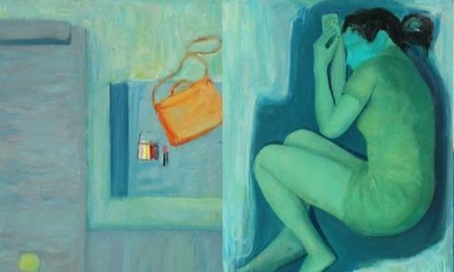 Nữ họa sĩ Sài Gòn vẽ tranh về ba năm bị trầm cảm