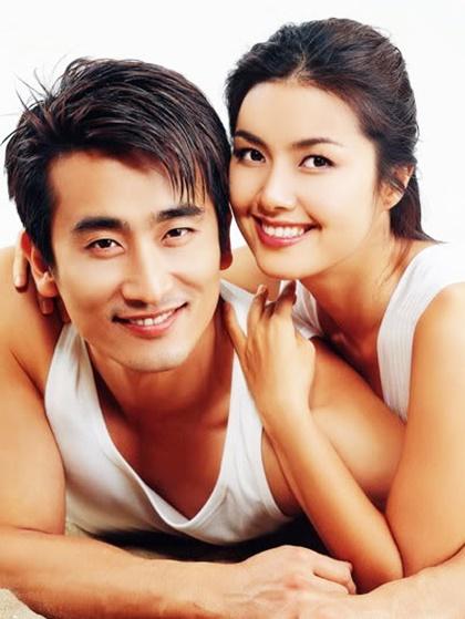 Vợ chồng Cha In Pyo - Shin Ae Ra.