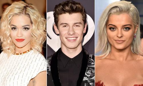 Rita Ora, Shawn Mendes, Halsey cùng tham gia Victorias Secret năm nay.